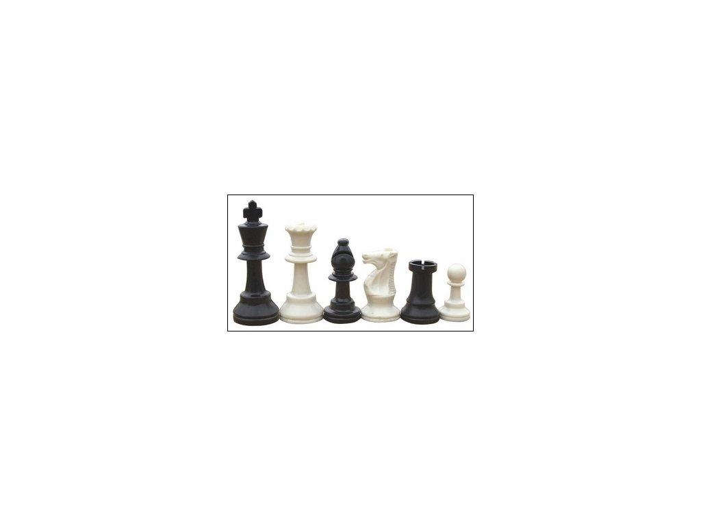 Sada plastových šachových figurek