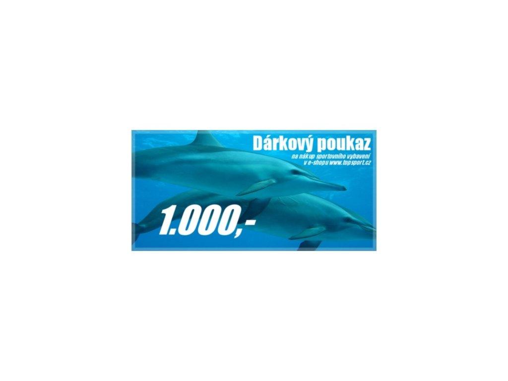 Dárkový poukaz 1000,-