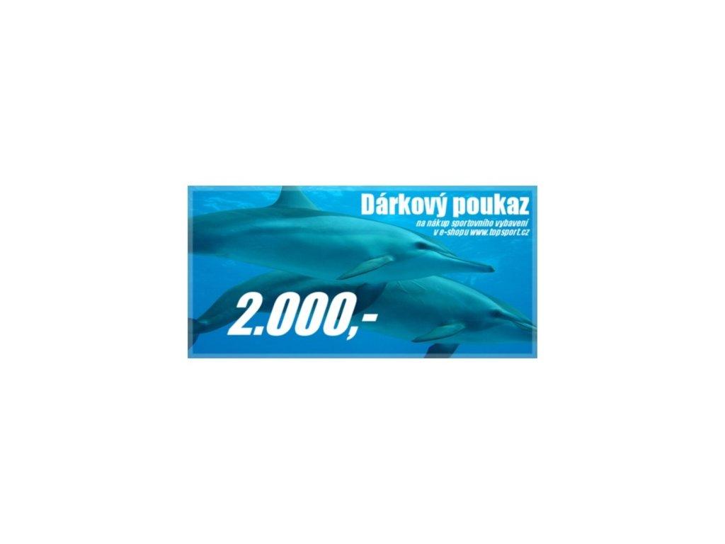 Dárkový poukaz 2000,-