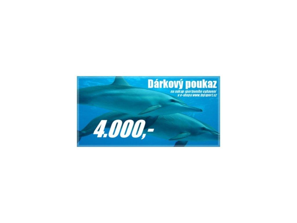 Dárkový poukaz 4000,-