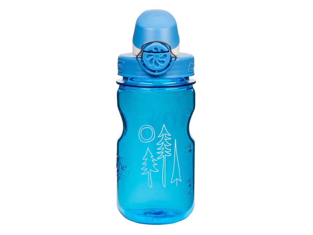 Láhev Nalgene Clear Kids OTF Blue
