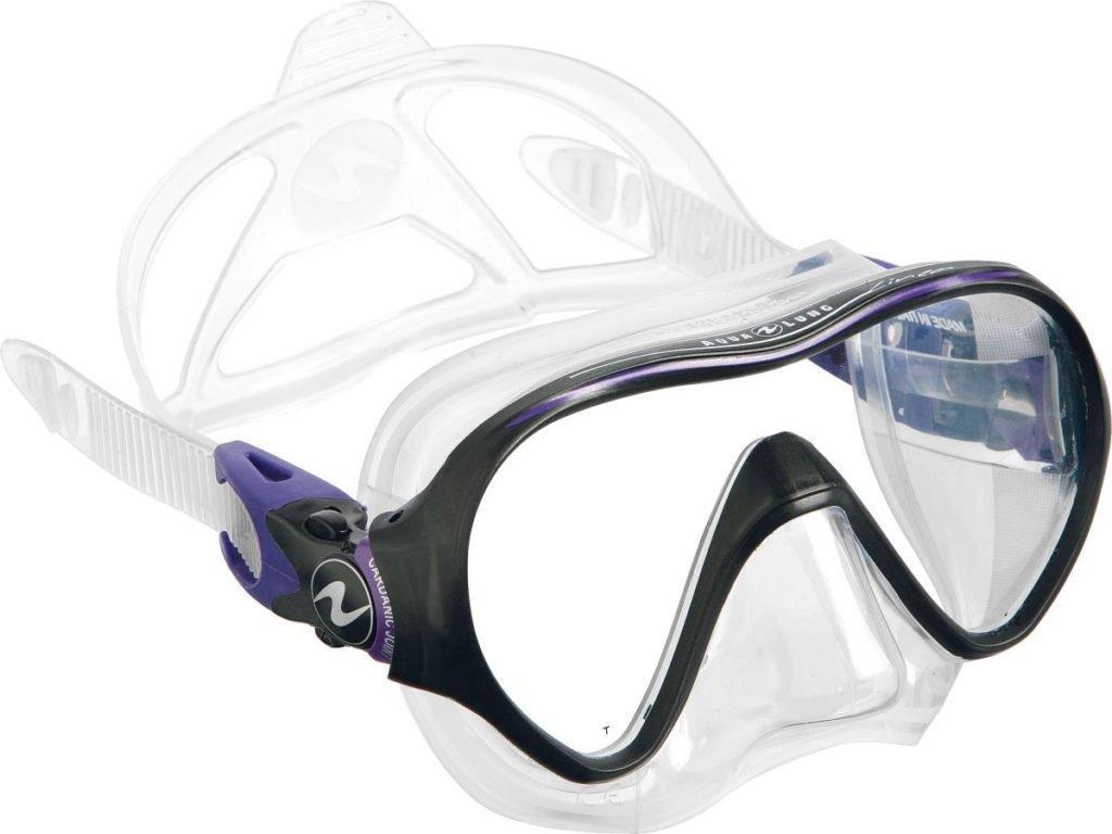 Maska Technisub Linea silikon transparent