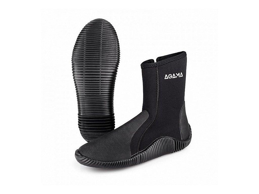 Neoprenové boty Agama STREAM - 5 mm