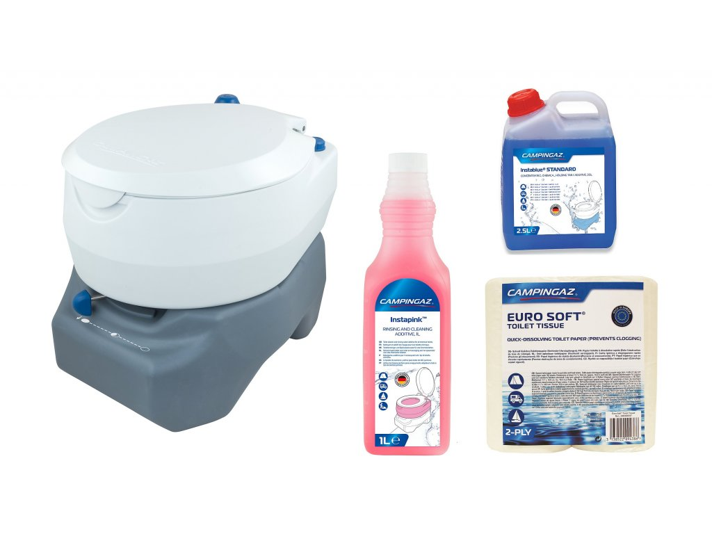 Chemická toaleta CAMPINGAZ® 20L PORTABLE TOILET COMBO