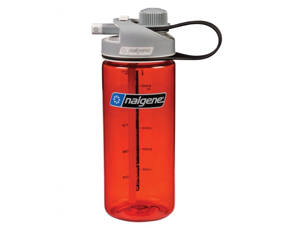 Láhev Nalgene MultiDrink 600ml red