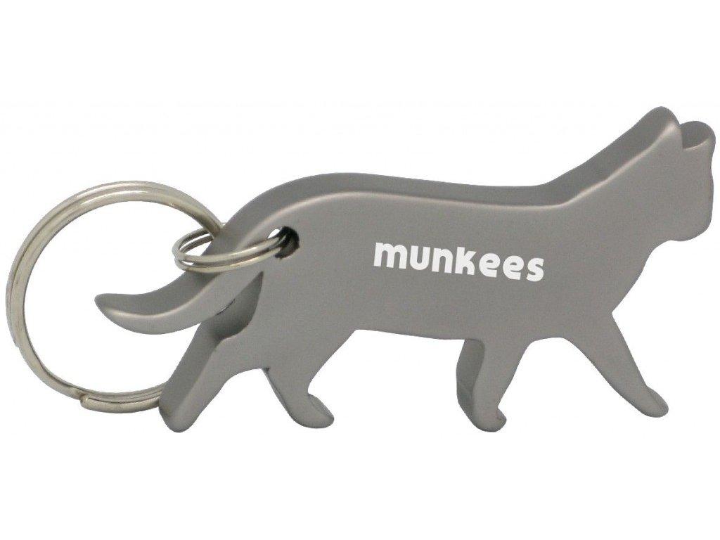 Munkees otvírák láhví - kočka