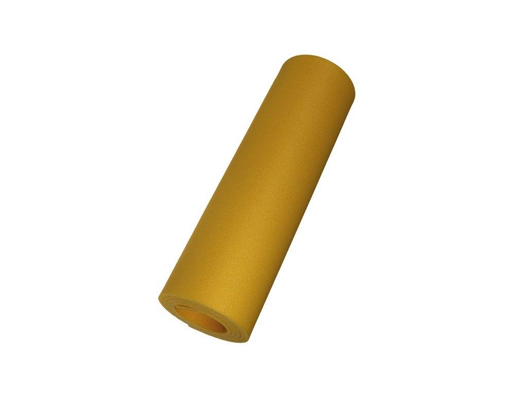 Yate karimatka jednovrstvá 8mm žlutá
