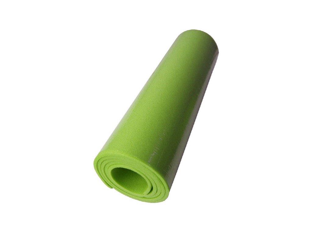 Yate karimatka jednovrstvá 8mm světle zelená