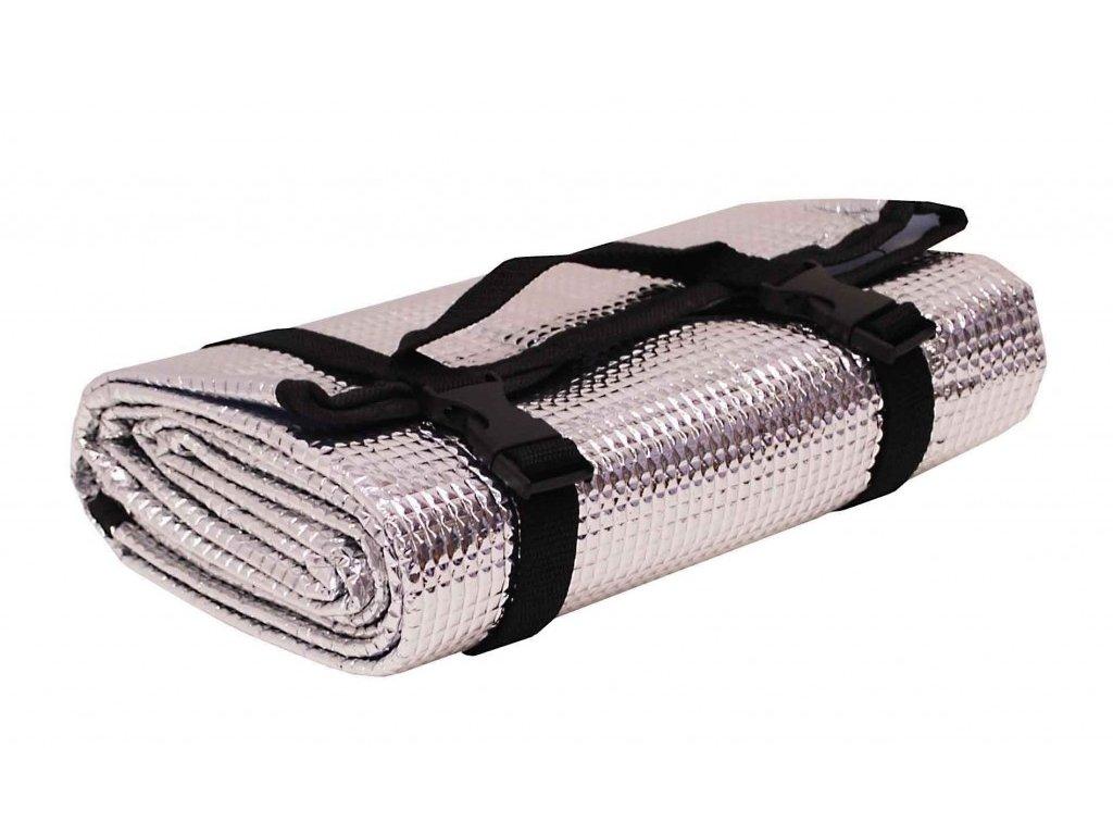 Karimatka ALU stříbrná 180x50x0,3cm