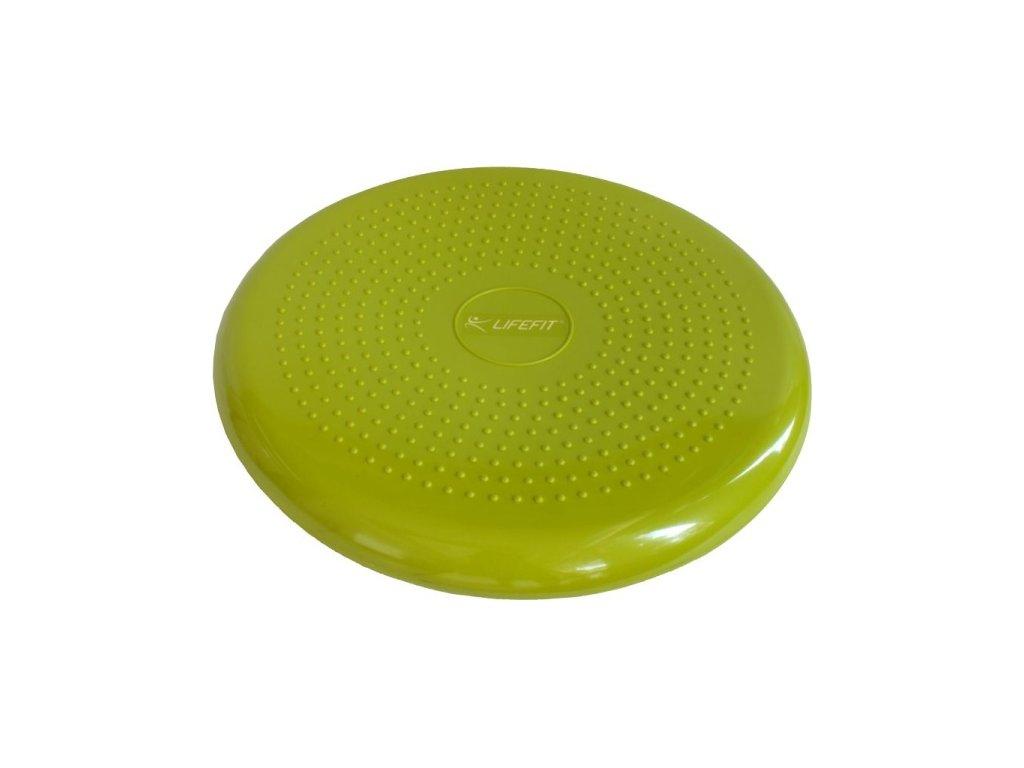 Lifefit Balance Cushion 33cm světle zelený