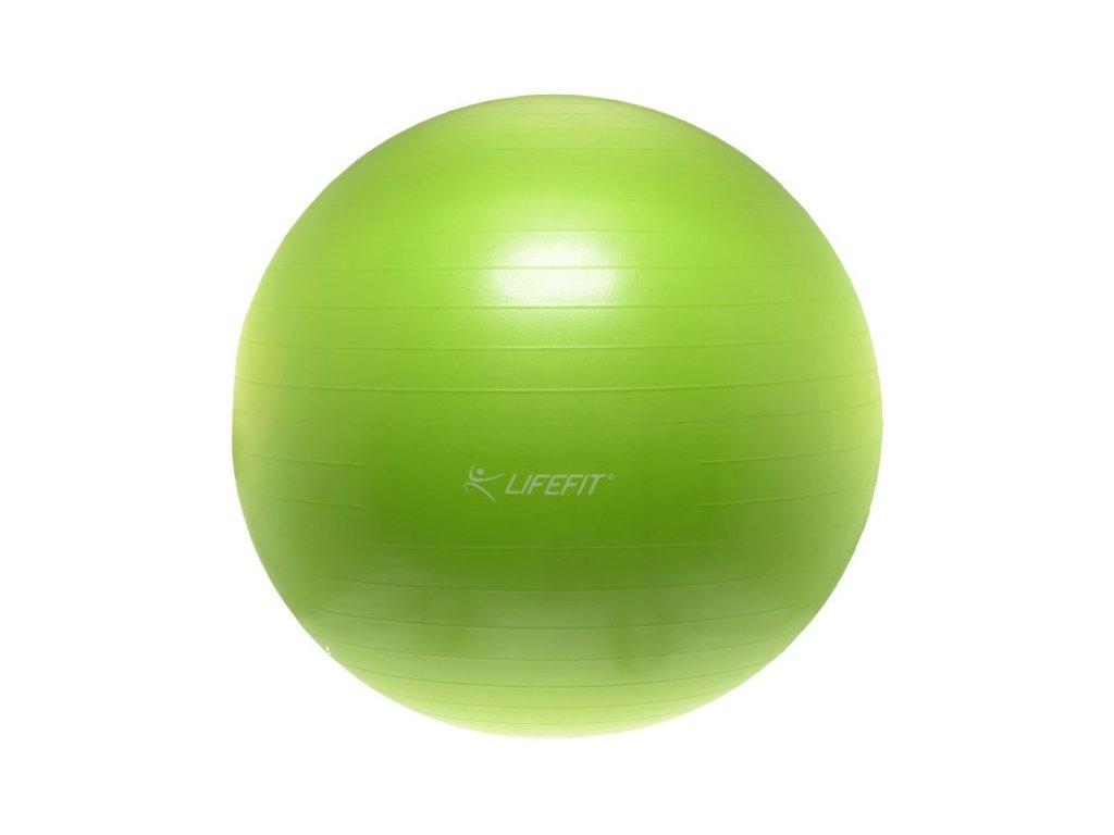 Gymnastický míč Lifefit Anti-Burst 75 cm, zelený