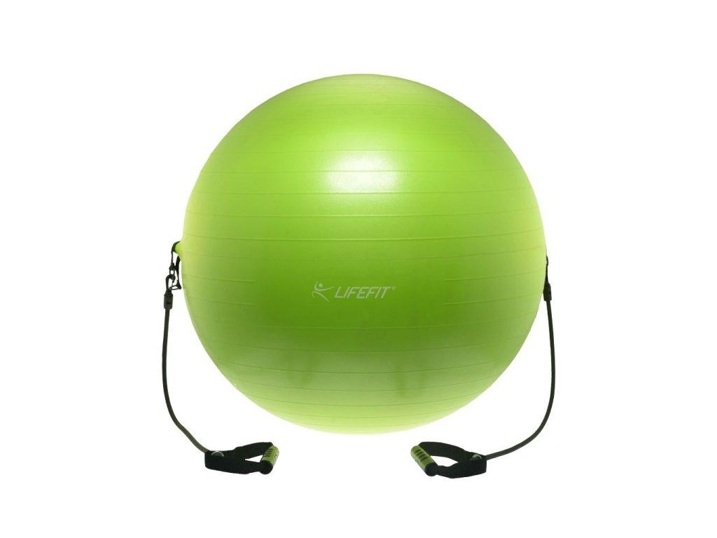 Míč s expanderem Lifefit Gymball Expand 55 cm