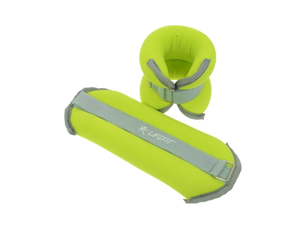 Lifefit Ankle/Wrist weights 2 x 1kg