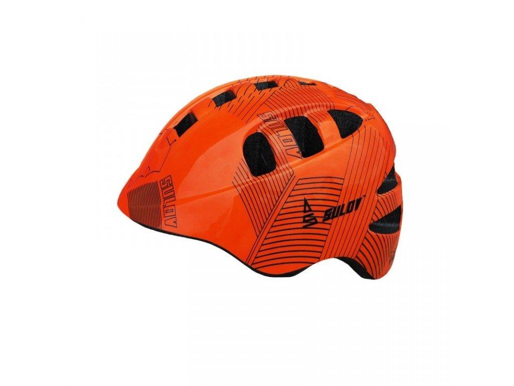 Dětská cyklo helma SULOV DAISIE orange