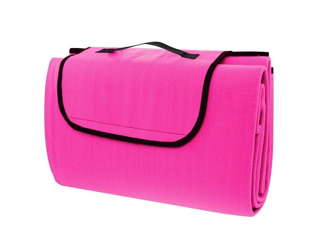 Pikniková deka Calter Grady 200x150 cm růžová