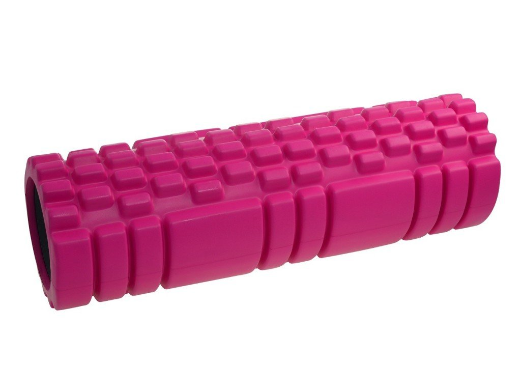 Masážní válec Lifefit Joga Roller A11 45x14cm růžový