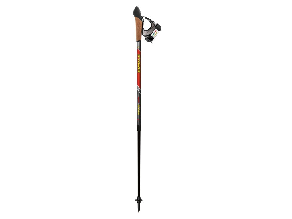 Hole Nordic Walking Vipole Vario Click-In Red
