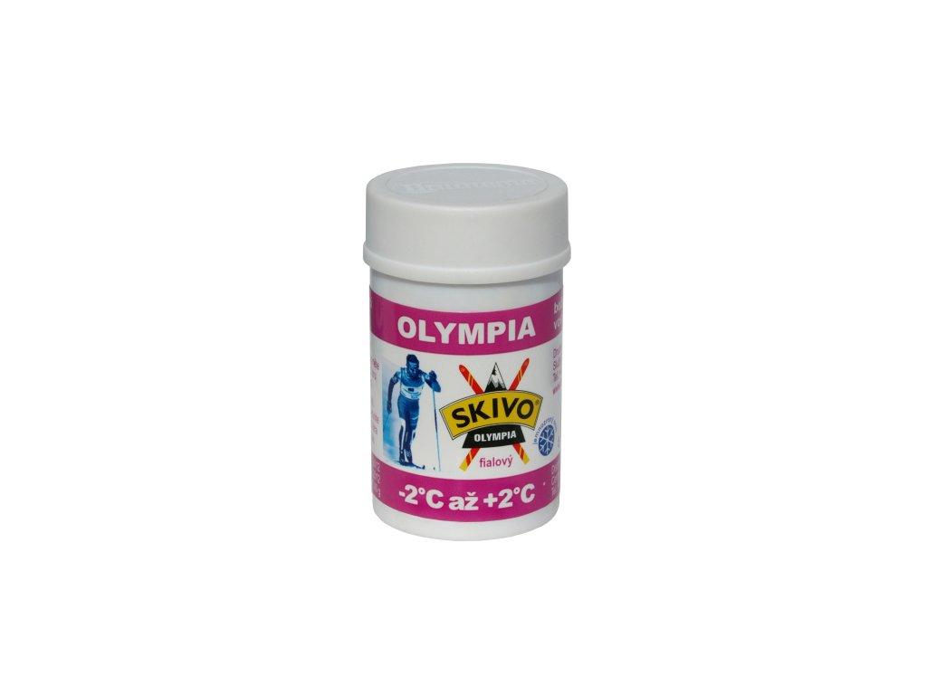 Skivo vosk Olympia fialový