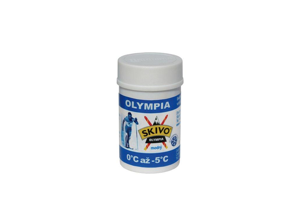 Skivo vosk Olympia modrý