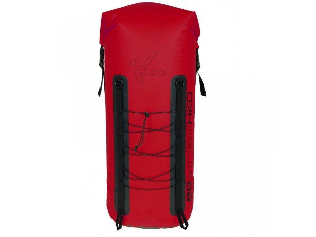 Hiko Lodní Batoh Trek Backpack 80L červený