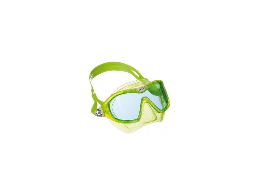 Maska Aqualung Sport MIX Lime - modrý zorník