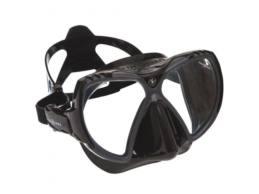 Maska Aqualung MISSION MIDI silikon černý