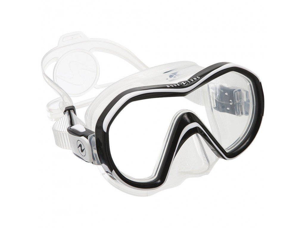 Maska Aqualung Reveal X1 silikon transparent bílá