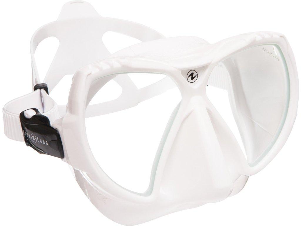Maska Aqualung MISSION silikon bílý