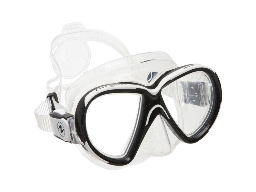 Maska Aqualung Reveal X2 silikon transparent bílá