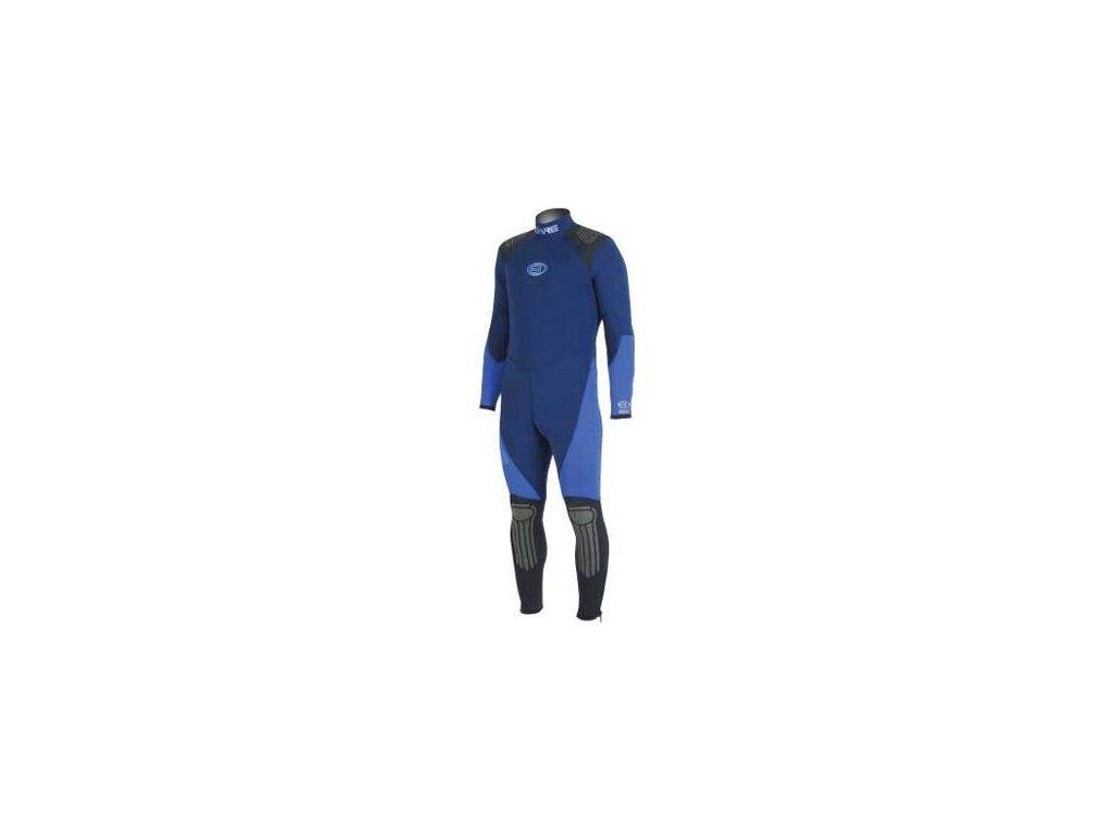 Bare oblek Arctic 7 mm dámský modrý S/8