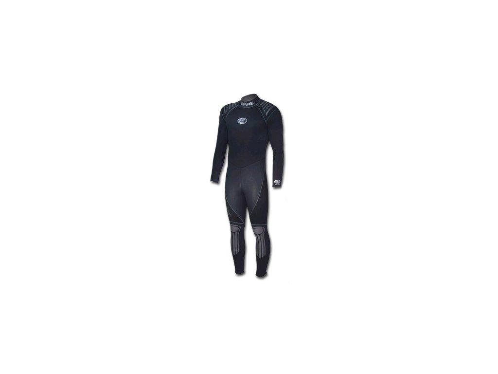 Bare oblek Arctic 7 mm dámský černá XS/6