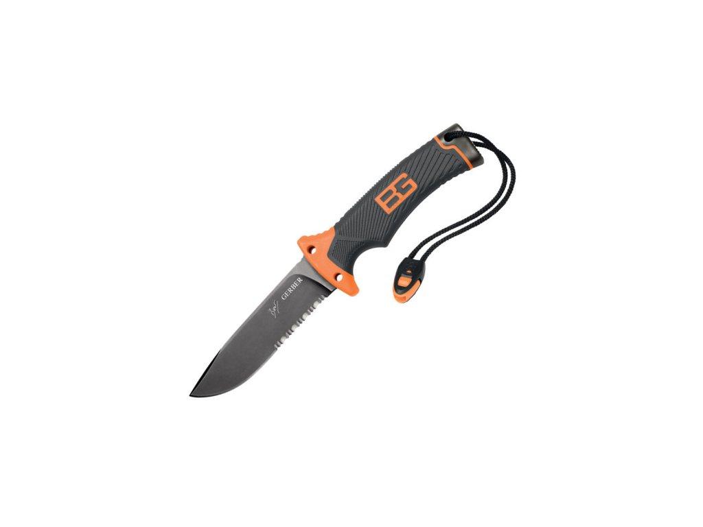 Nůž Gerber Bear Grylls Ultimate Knife, kombinované ostří