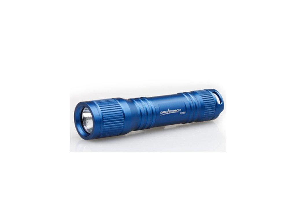 Mini světlo Orcatorch D560 modrá