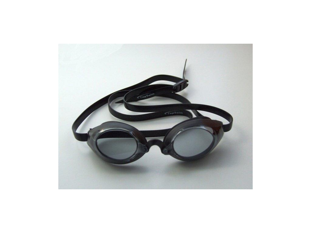 Plavecké brýle Topswim Race mirror Silver