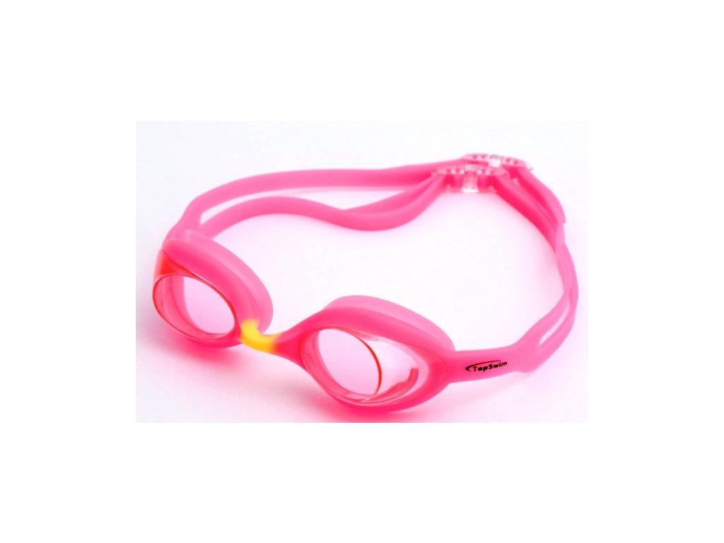 Dětské plavecké brýle Topswim Shark pink
