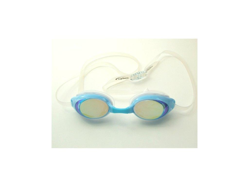 Dětské plavecké brýle Topswim Dolphin Mirror blue