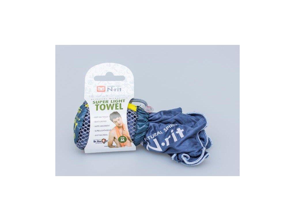 Ručník N-Rit Super Light Towel M Tmavomodrý