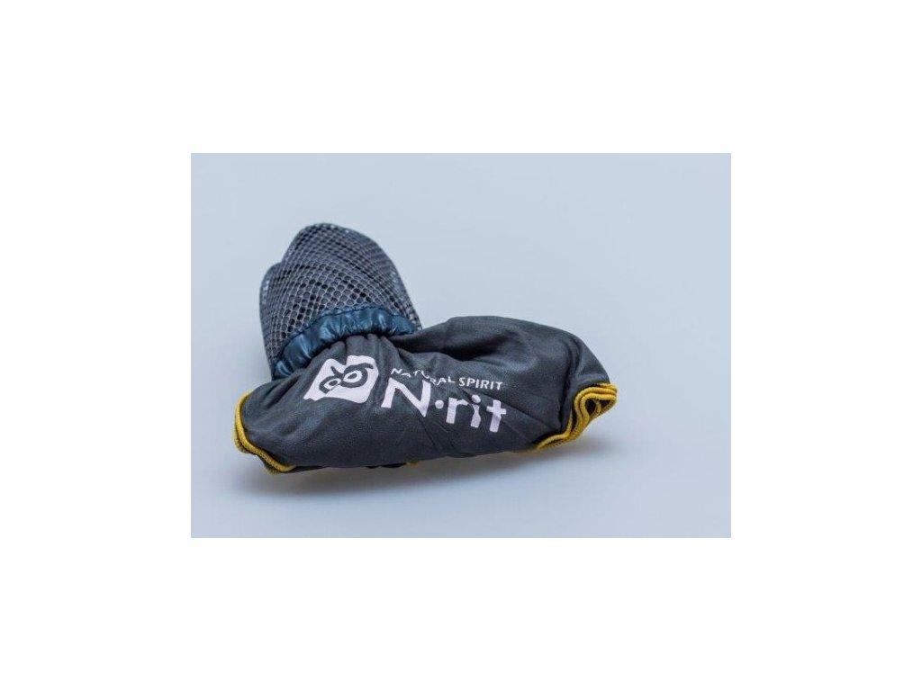 Ručník N-Rit Super Light Towel L Šedý