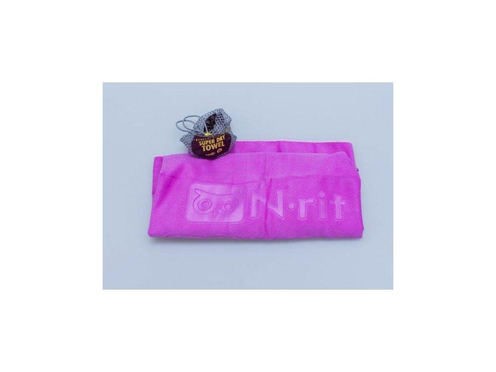 Ručník N-Rit Super Dry Towel M Fialový