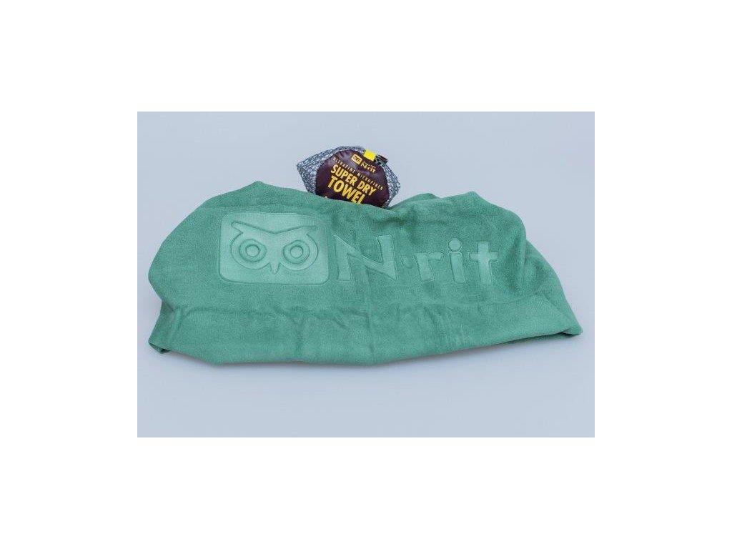 Ručník N-Rit Mega Dry Towel XL Zelený
