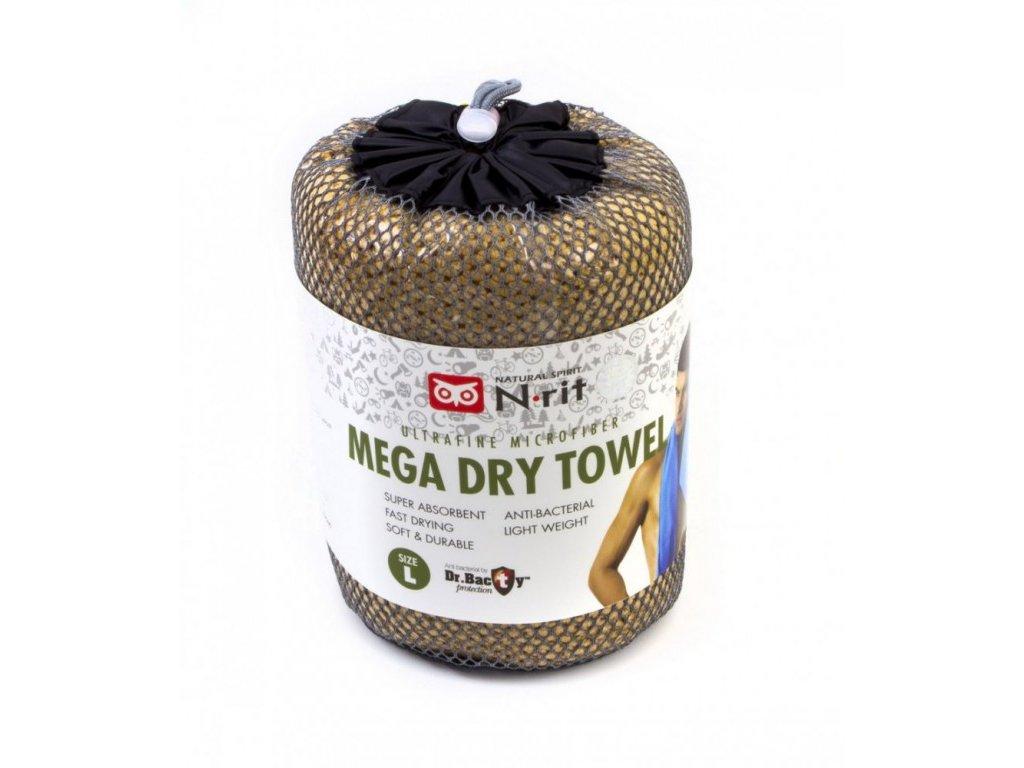Ručník N-Rit Mega Dry Towel L Béžový