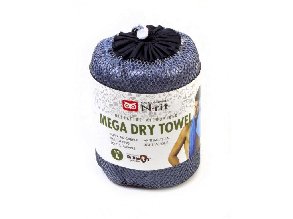 Ručník N-Rit Mega Dry Towel L Modrý