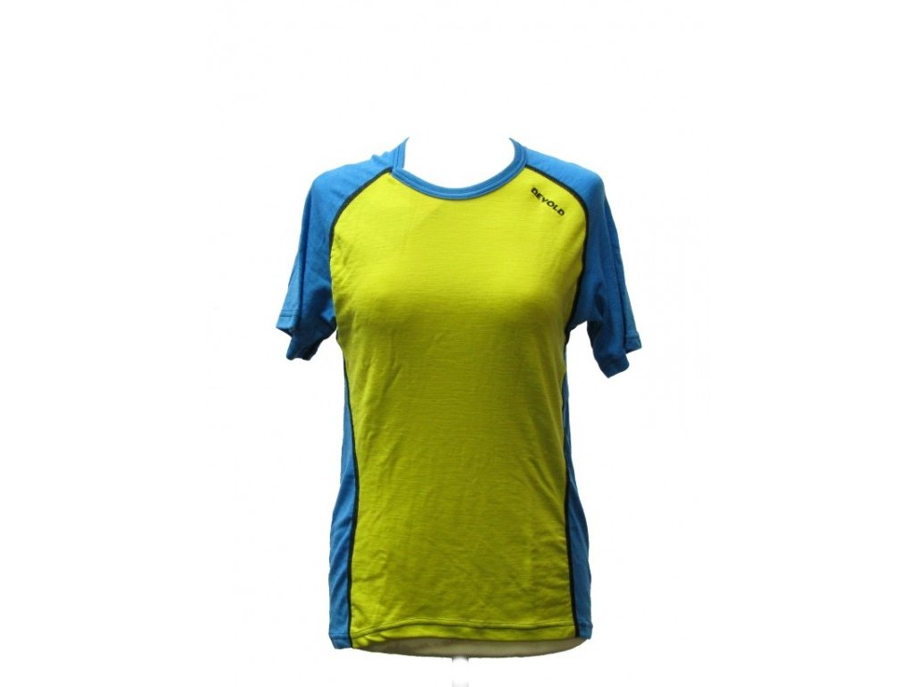 DEVOLD multisport triko dámské olivovo modré