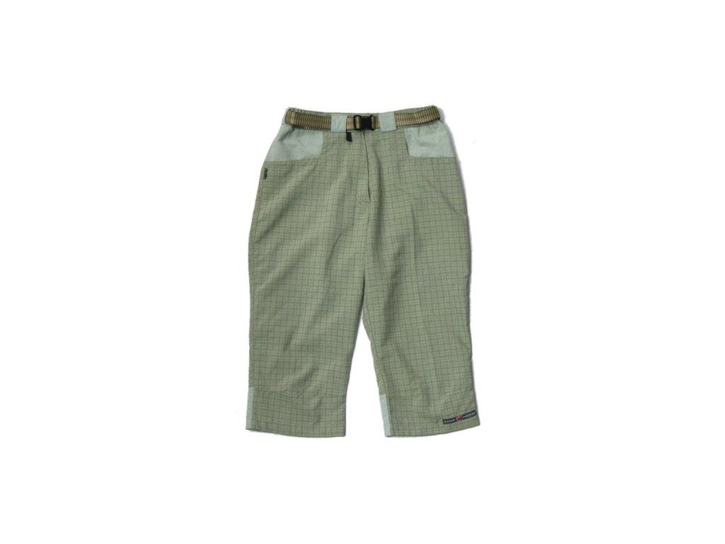 Rock Horn kalhoty Capri  3/4 zelená