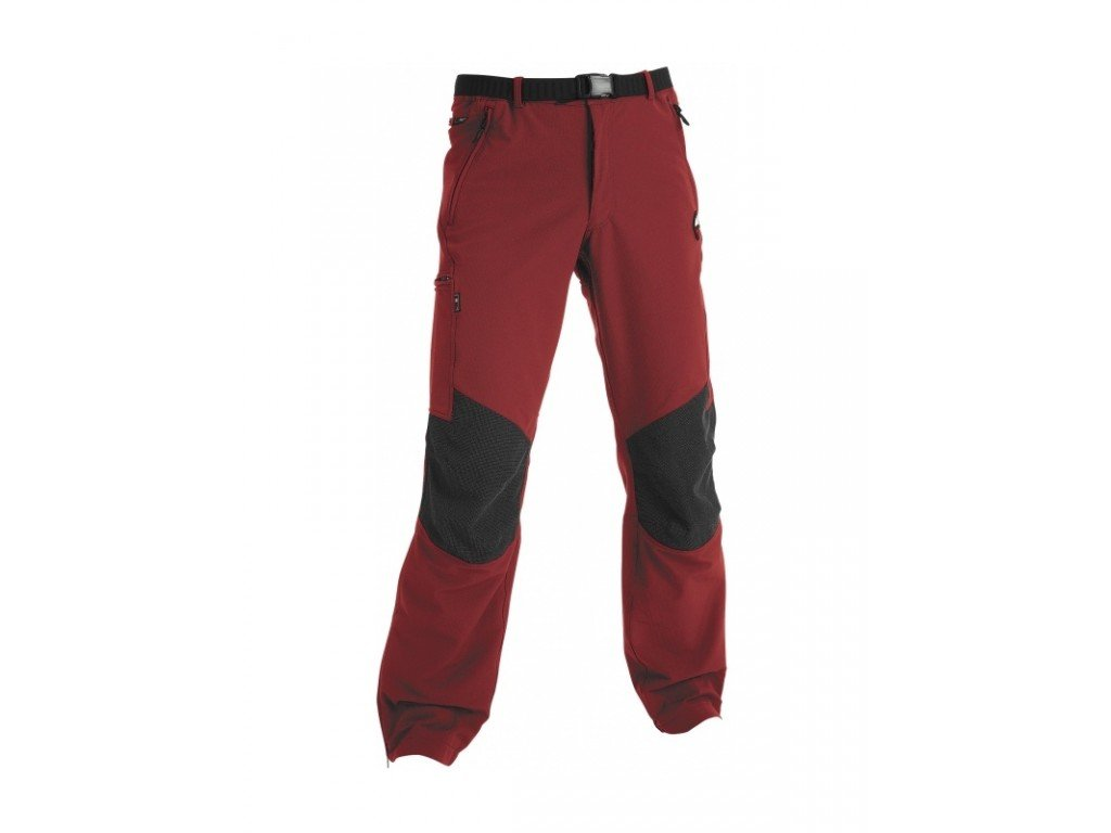 Kalhoty High Point Gondogoro red/black XS