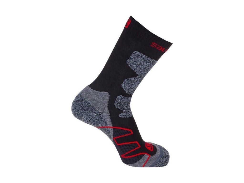 Ponožky Salomon Exit Asphalt/Dynamic 375470