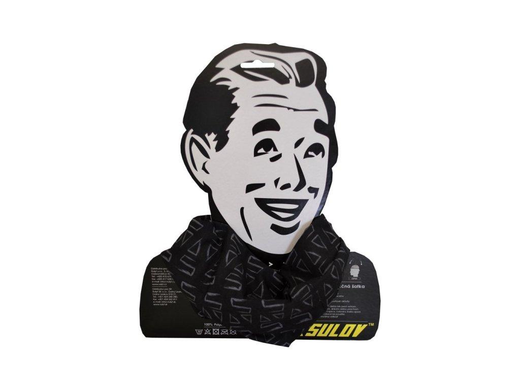 4c1e7f1254a Sulov sportovní šátek černý - Topsport