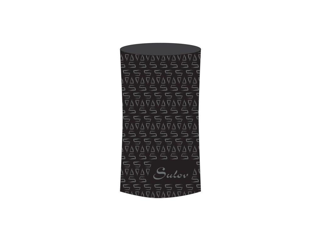 Sulov sportovní šátek černý