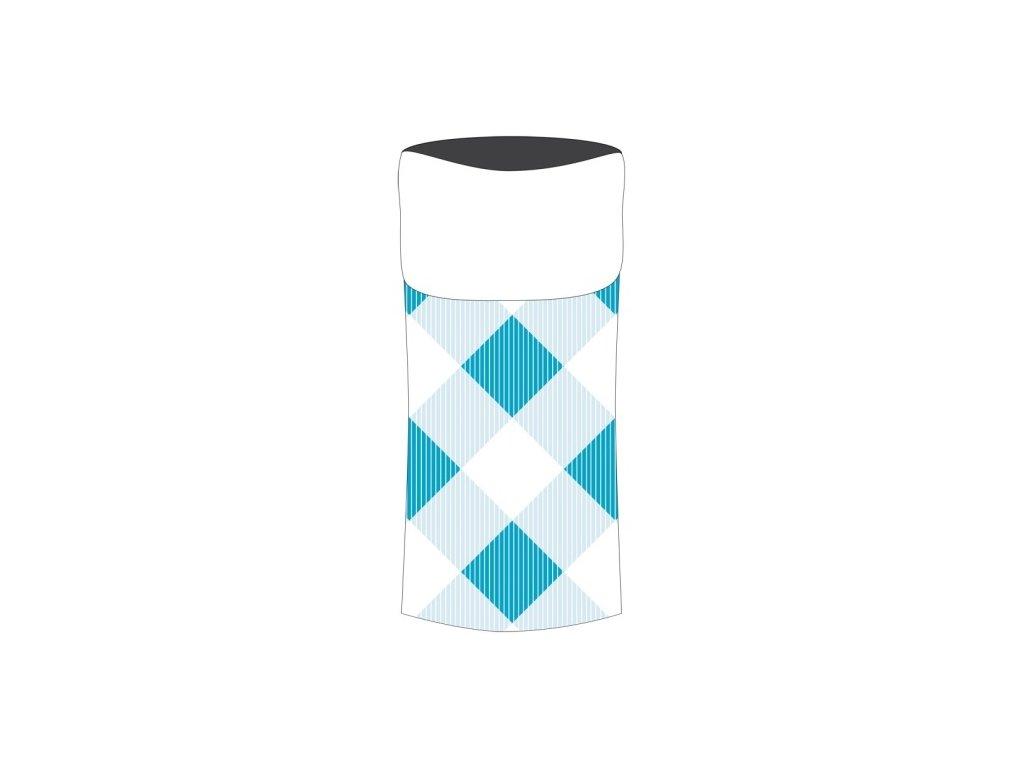 Sulov sportovní šátek s fleece modrý-bílý