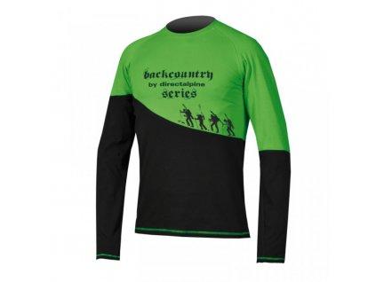 Tričko Direct Alpine BCS 1.0 shirt black/green